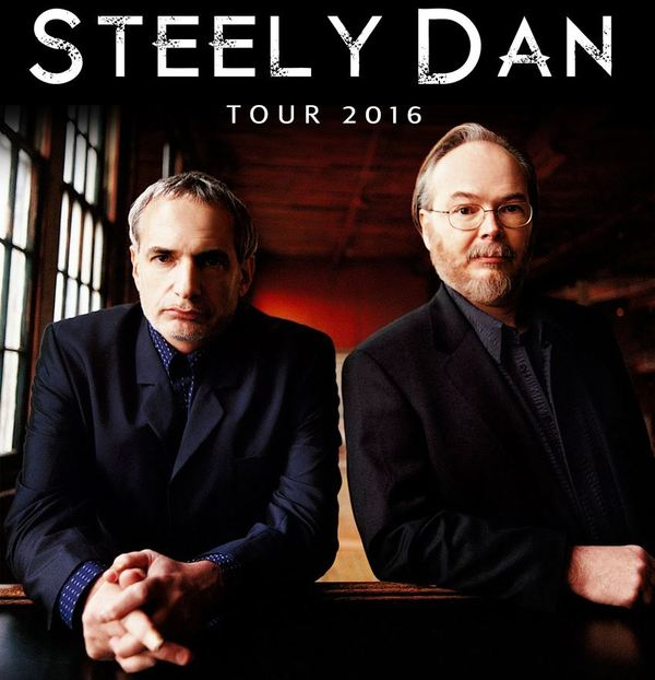 Summer 2016 Tour with Steely Dan!