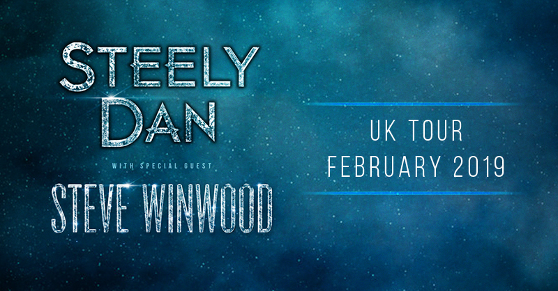 5 New Shows Announced With Steely Dan in the UK and Ireland!