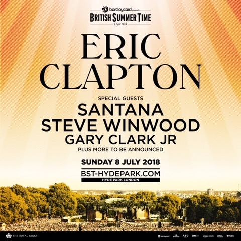 Clapton + Winwood + Santana Tickets Now On Sale!