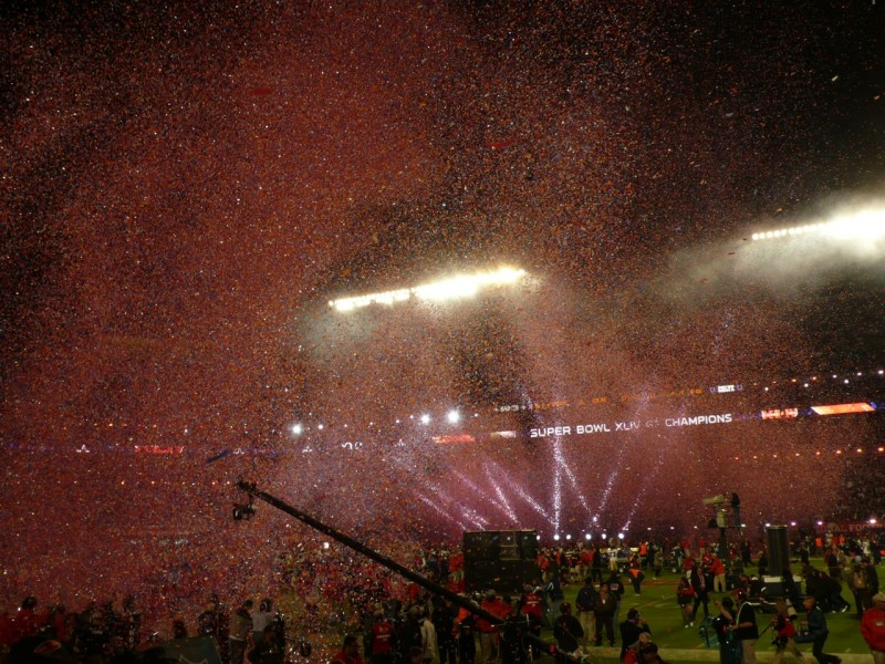The Super Bowl 2010