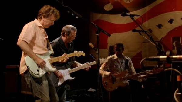 "Steve Winwood and Eric Clapton - ""Had To Cry Today"" - Live at The Crossroads Guitar Festival, 2007"