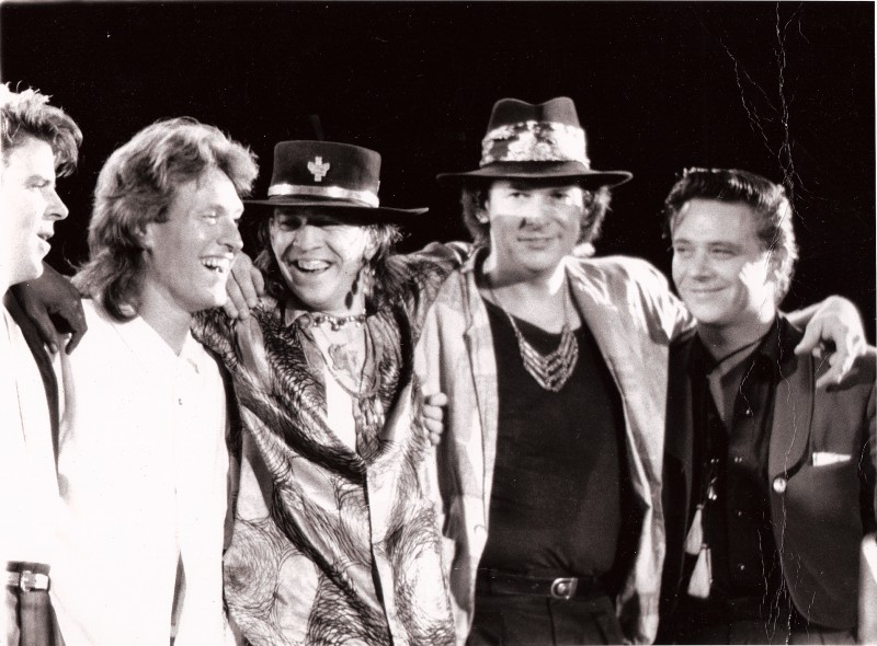 Steve Winwood, Stevie Ray Vaughan, and Double Trouble