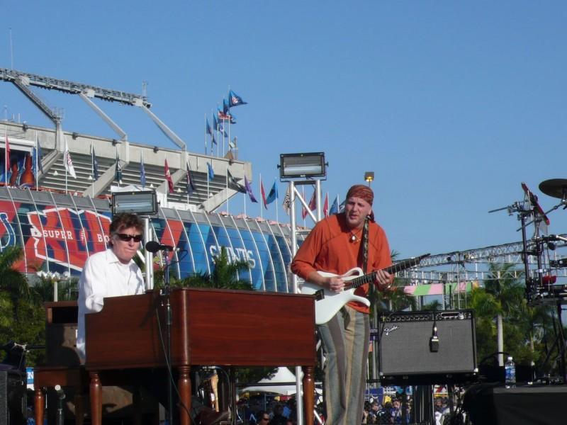 Steve Winwood and Jose Neto @ The Super Bowl 2010