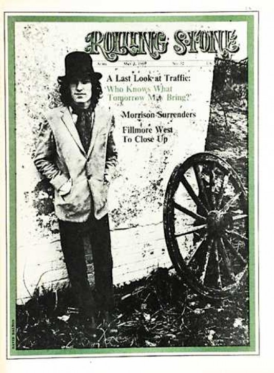 Steve Winwood: Rolling Stone April 27, 1968