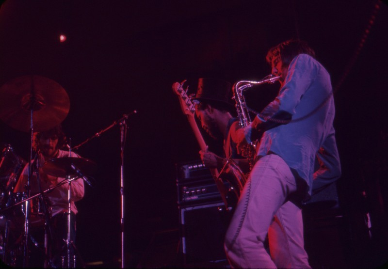 Traffic: Winterland, San Francisco, October 3rd, 1974. Photo by David Miller