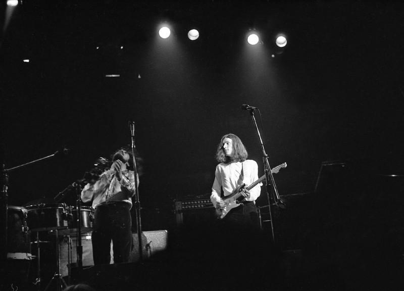 Traffic: Winterland, San Francisco, January 26th, 1973. Photo by Dan Cuny