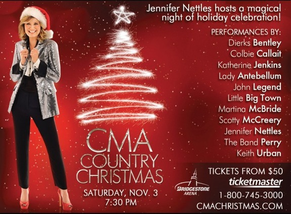 Jennifer Hosts 2012 CMA Country Christmas! : Sugarland