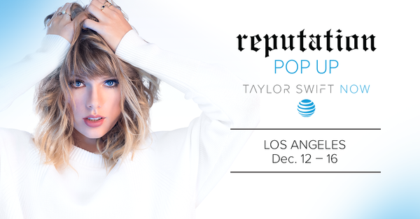 'reputation' POP UP STORE COMING TO LOS ANGELES