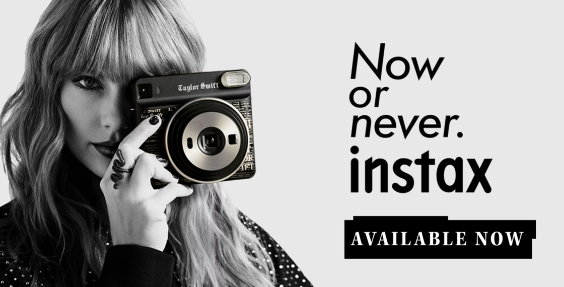 instax SQUARE SQ6 Taylor Swift Edition Available Now