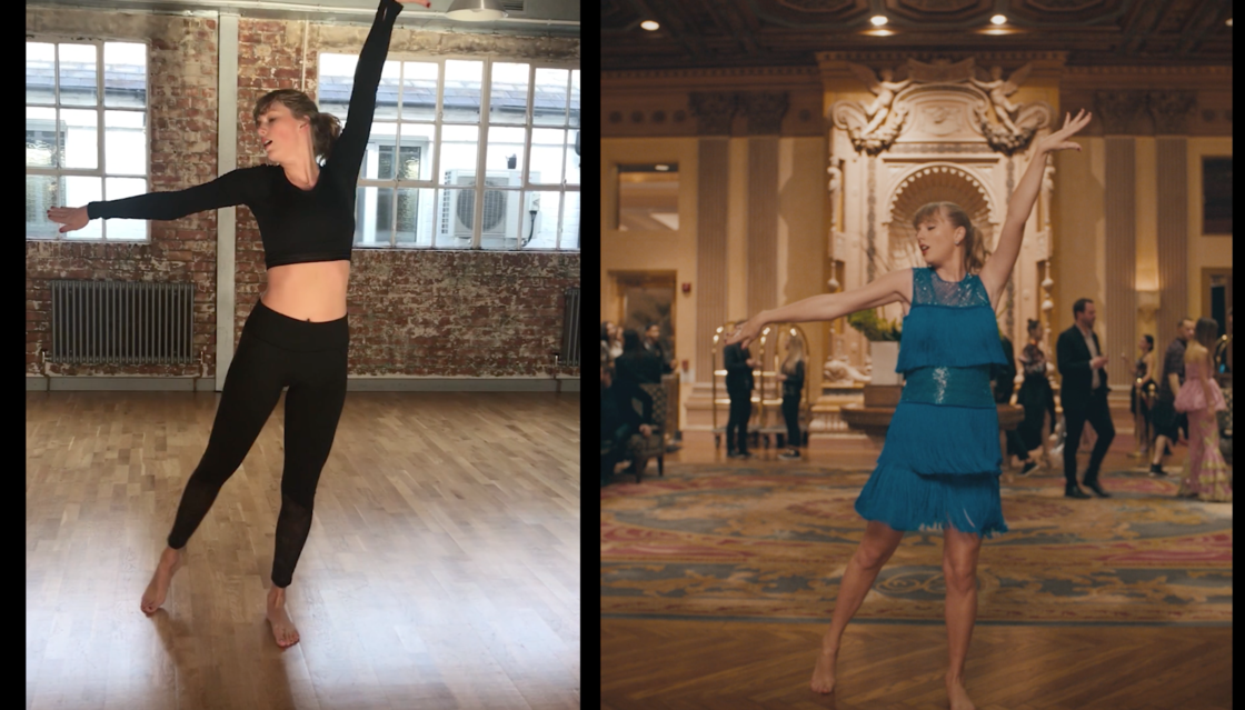 WATCH: DELICATE MUSIC VIDEO DANCE REHEARSALS