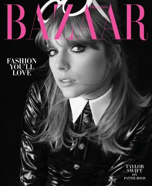 TAYLOR COVERS AUGUST 2018 ISSUE OF HARPER'S BAZAAR