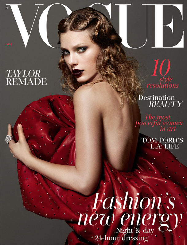 Taylor Graces Cover of January 2018 British Vogue