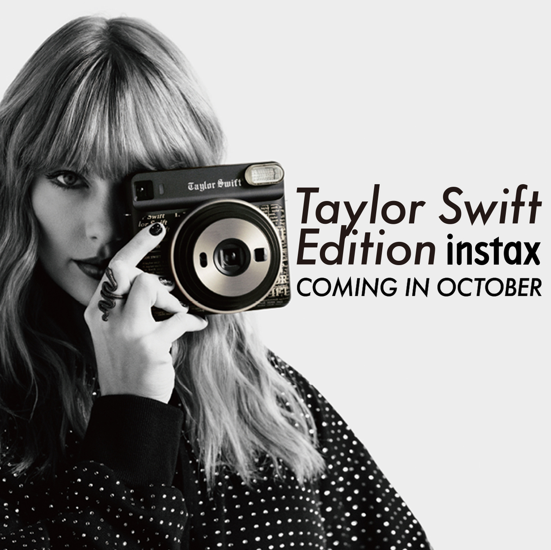 Preorder the instax SQUARE SQ6 Taylor Swift Edition