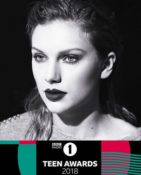 TAYLOR SWIFT NOMINATED FOR BBC RADIO 1 TEEN AWARD