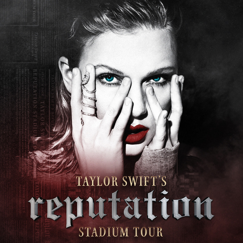 TAYLOR SWIFT'S reputation STADIUM TOUR // FIRST ROUND OF DATES ANNOUNCED