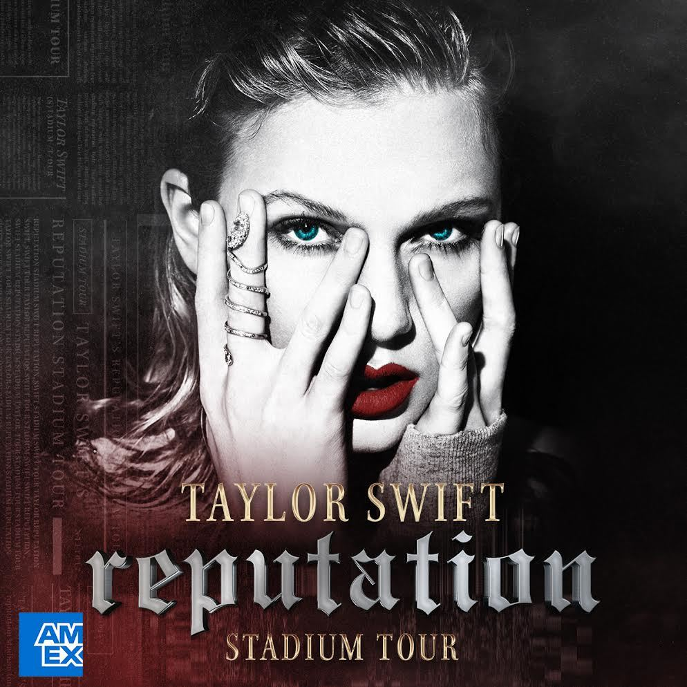 Exclusive Taylor Swift reputation Stadium Tour Access for American Express Card Holders