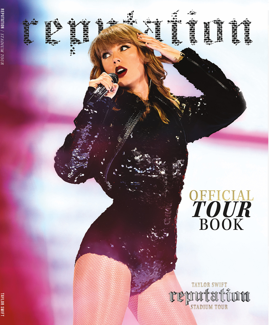 Official reputation Stadium Tour Book Available Now!