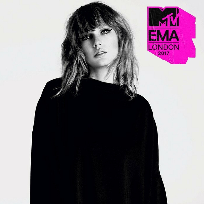 TAYLOR LEADS MTV EMA 2017 NOMINATIONS