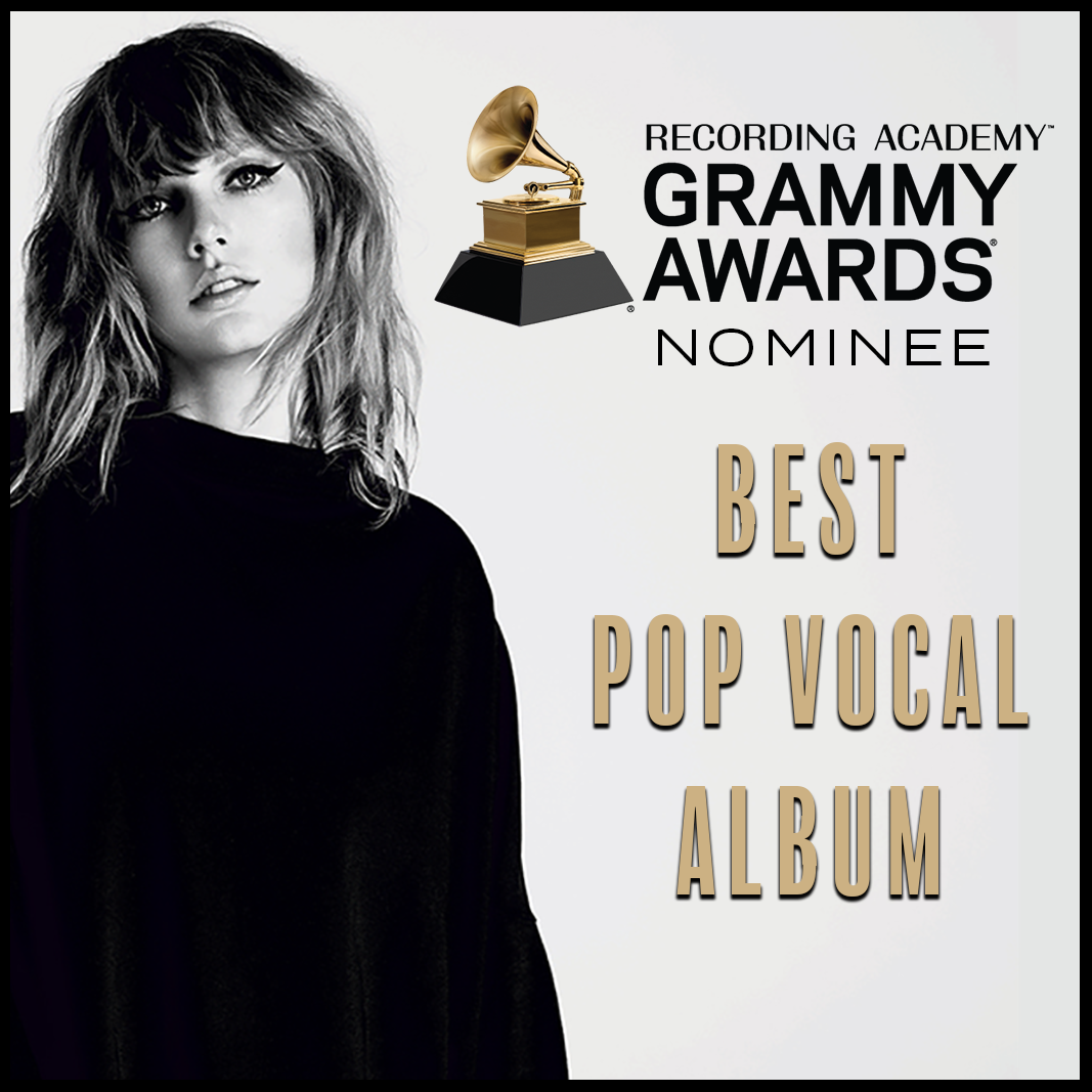 2019 GRAMMY NOMINATION: 'reputation' UP FOR BEST POP VOCAL ALBUM