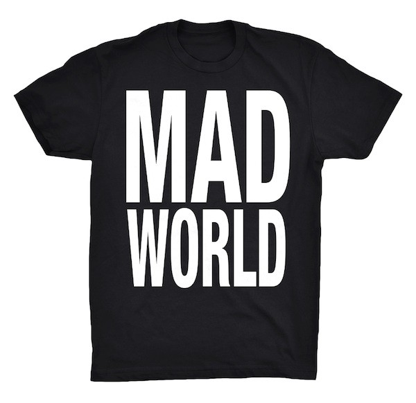 Mad World Tee image