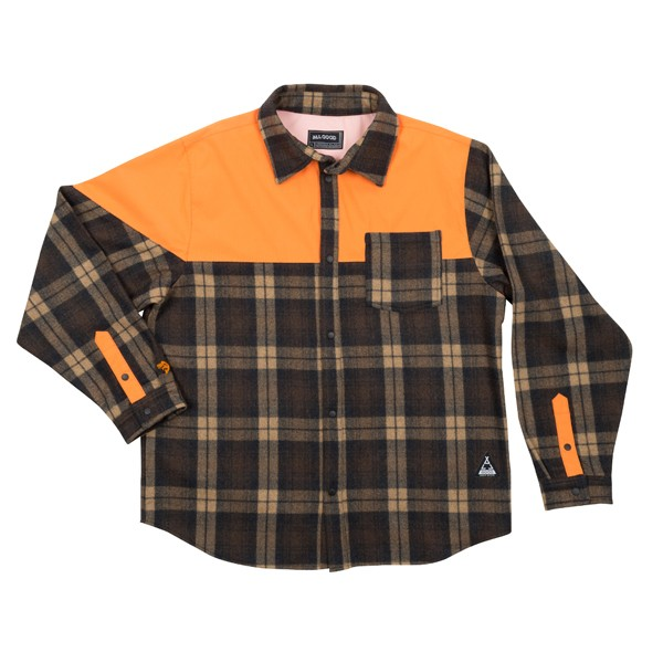 All Good x Cabin Flannel Shirt image