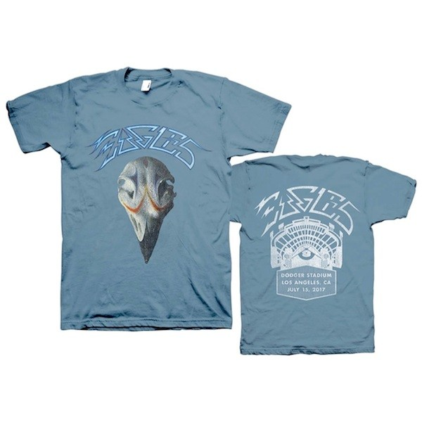 Eagles The Classic Dodger Stadium Greatest Hits T-Shirt