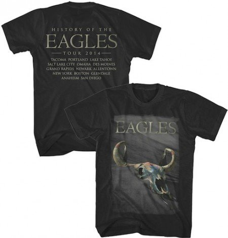 2014 History of the Eagles Tour T-Shirt - Black