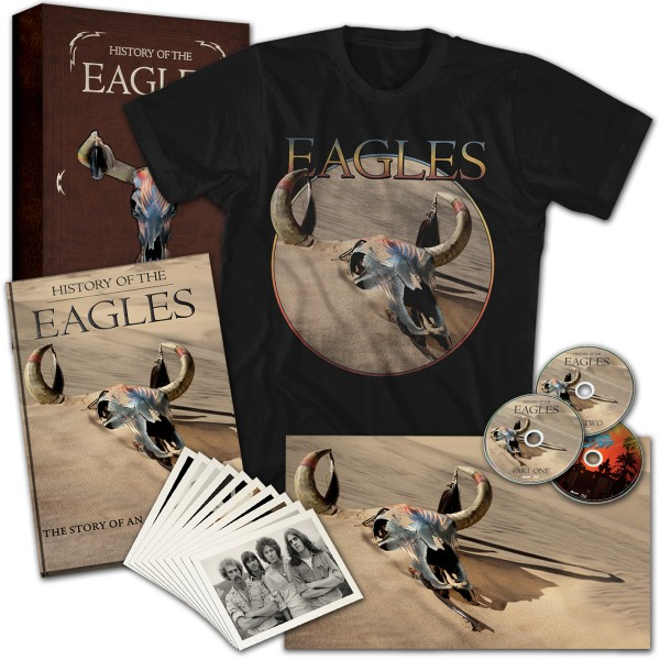 History Of The Eagles Limited Edition Box Set T-Shirt Combo