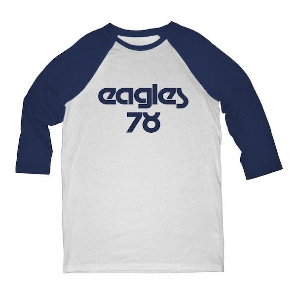 Eagles 78 3/4 Sleeve Raglan