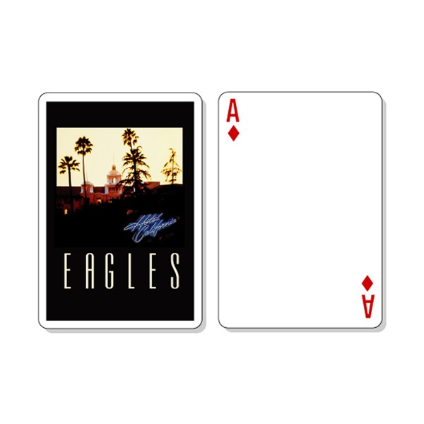 Eagles Hotel California Playing Cards image