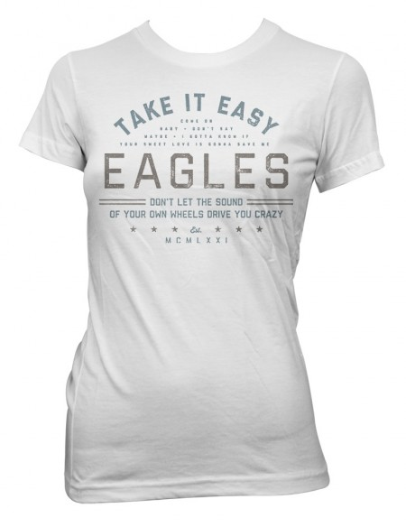 Take it Easy Womens T-Shirt image