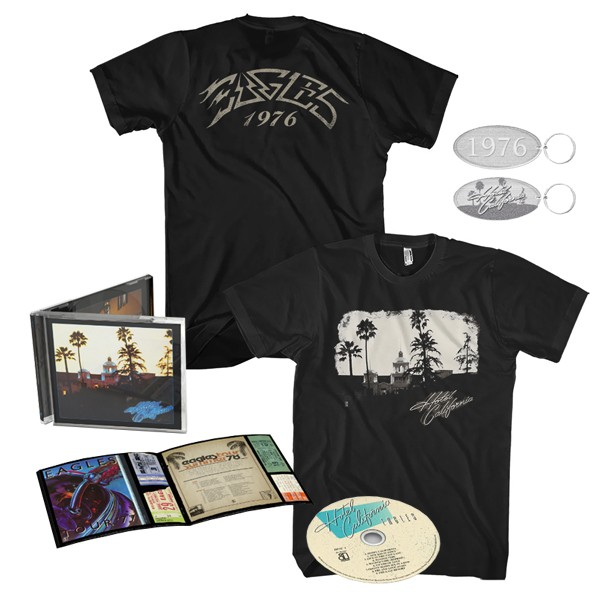 Hotel California: 40th Anniversary Edition + Exclusive T-Shirt + Keychain