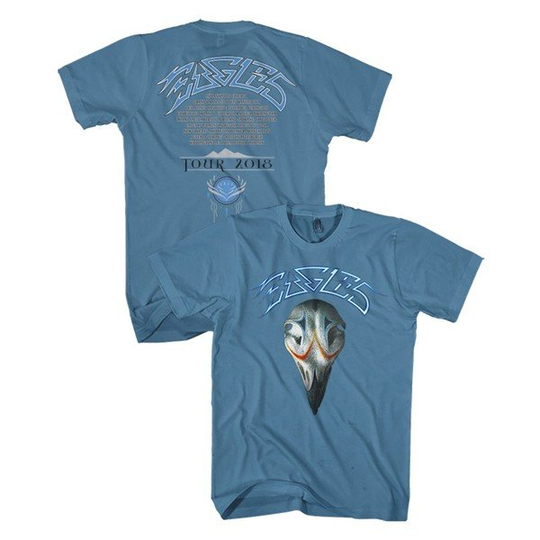 Eagles Greatest Hits 2018 Tour Tee - Blue