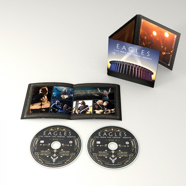 Eagles Live From The Forum 2-CD image