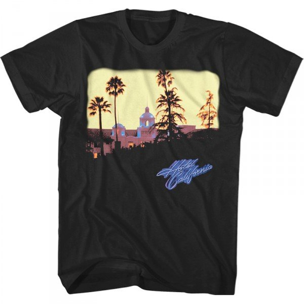 Eagles Hotel California T-Shirt  image