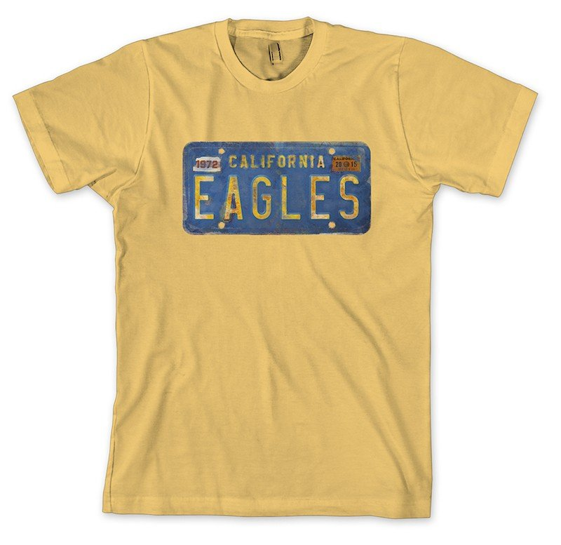Eagles License Plate T-Shirt