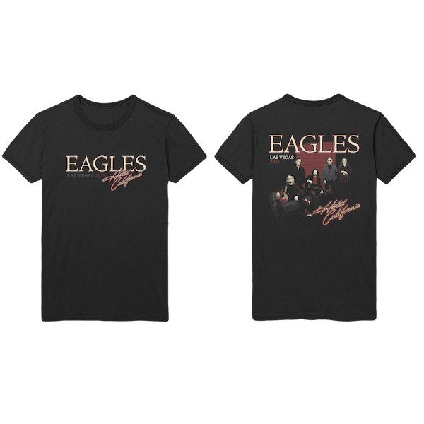 Hotel California T-Shirt with Eagles Photo