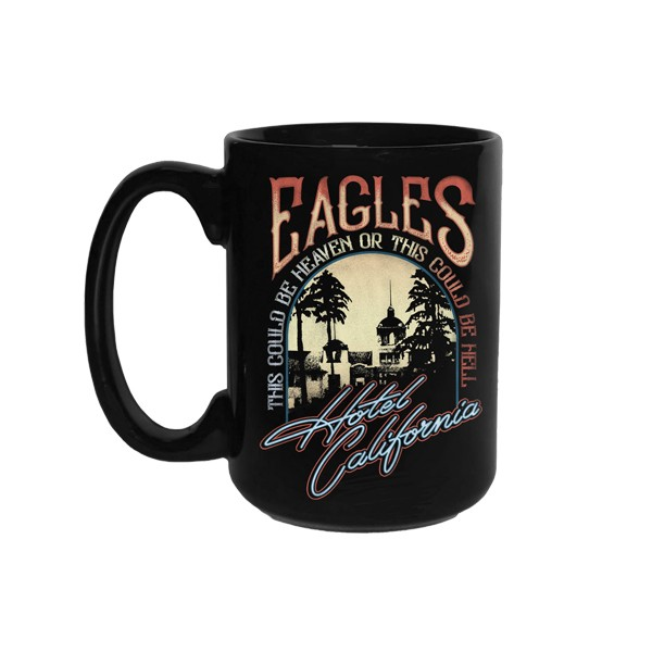 Hotel California Heaven or Hell Mug