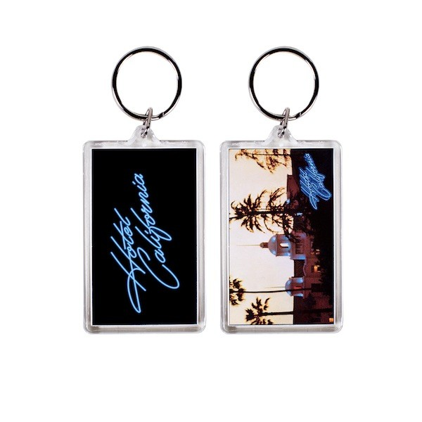 Hotel California Two Sided Keychain