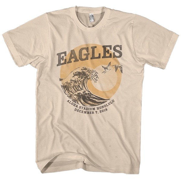 Eagles Aloha Stadium Honolulu Tour T-Shirt image
