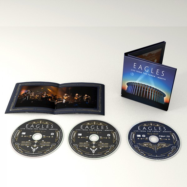 Eagles Live From The Forum 2-CD/1 Blu-ray image