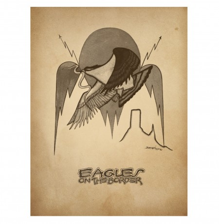 Eagles On The Border Poster image