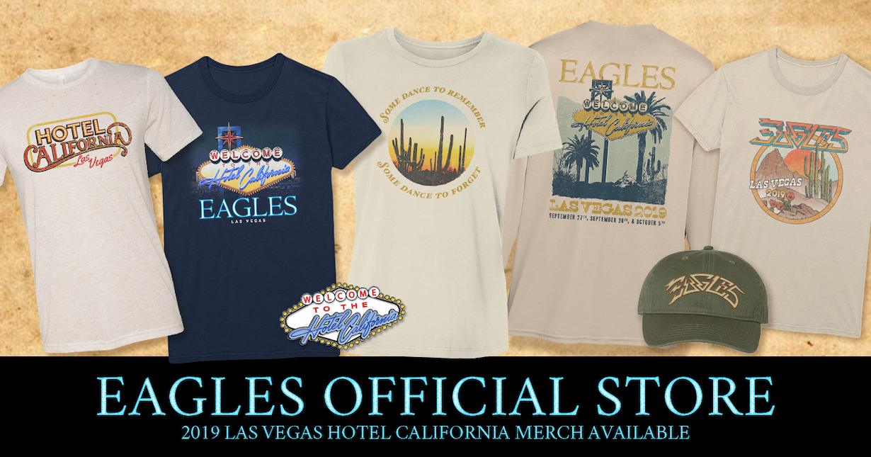 2019 Vegas Hotel California Merch