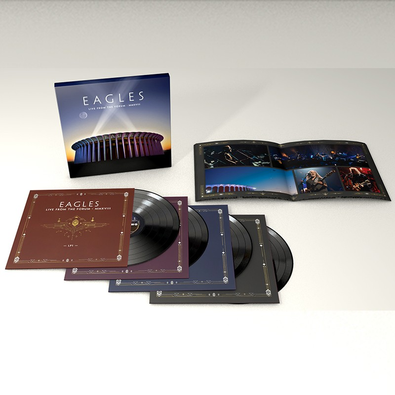 Eagles Live From The Forum 4-LP
