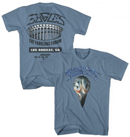 2014 The Fabulous Forum Eagles Greatest Hits T-Shirt image