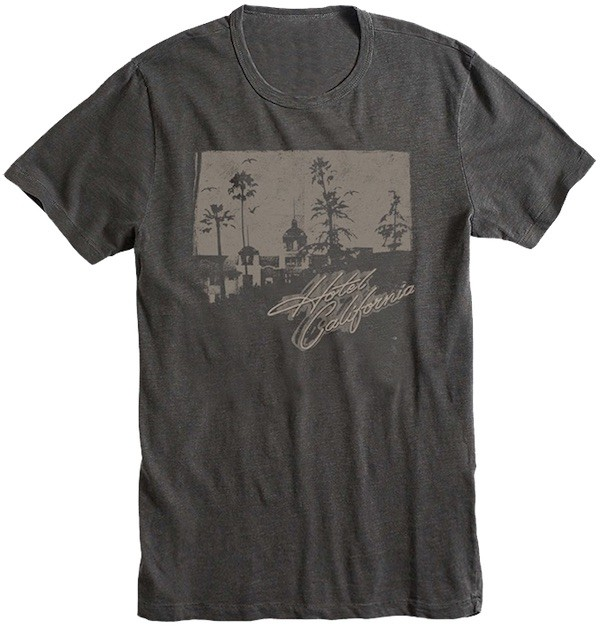 Hotel California Charcoal T-Shirt
