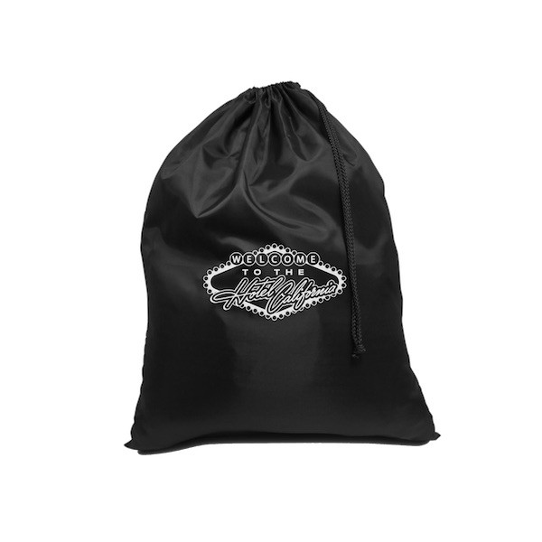 Las Vegas Hotel California Drawstring Backpack image
