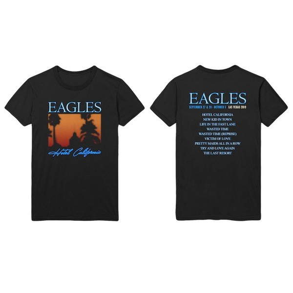 Hotel California Album T-Shirt