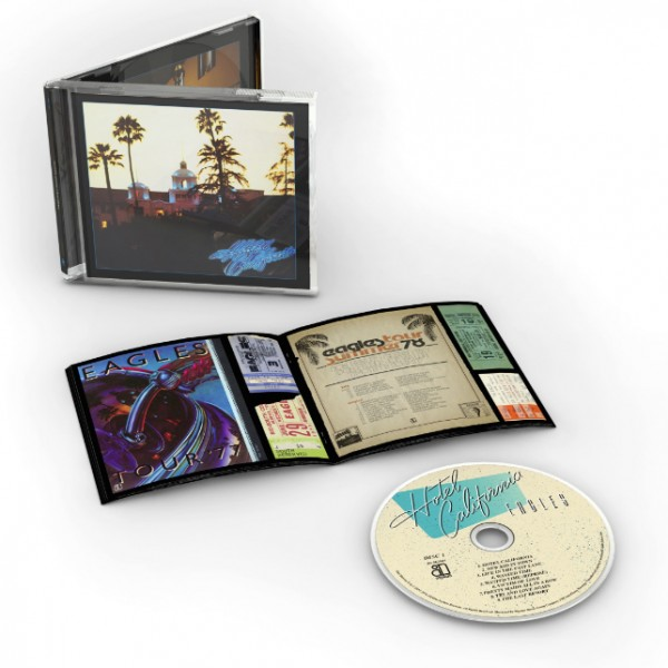 Hotel California 40th Anniversary Edition CD