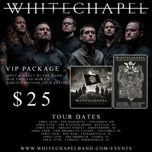 Whitechapel VIP Upgrade Available Now